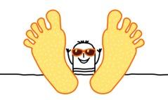 big feet & summer
